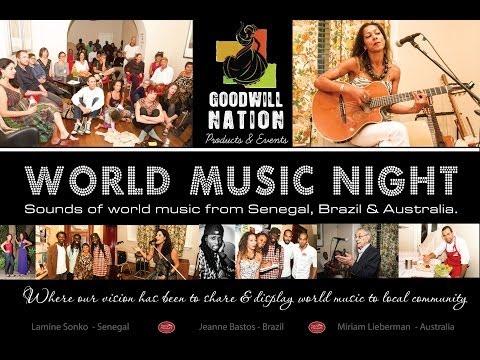 Goodwill Nation World Music Night 2013