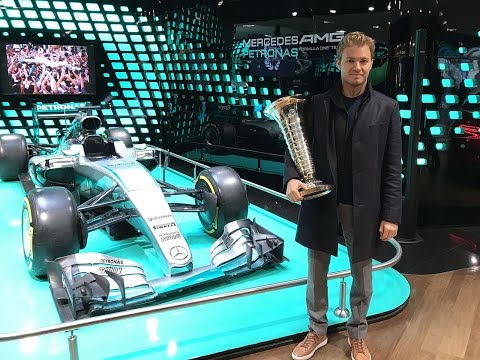 F1 - Rencontre avec Nico Rosberg à Paris