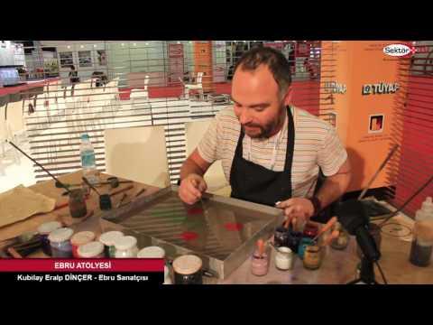 Ebru Sanatçısı Kubilay Eralp DİNÇER&39;le Ebru Sanatı üzerine söyleşimiz 1