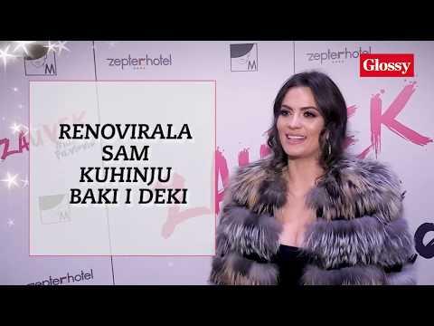 GLOSSY LIČNO Milica Pavlović : Za sebe uglavnom kažem da sam pacijent!
