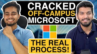 Off-Campus Placement at Micr๐soft || How to apply and Crack ?