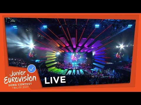 JUNIOR EUROVISION 2017 - FLAG PARADE AND COMMON SONG