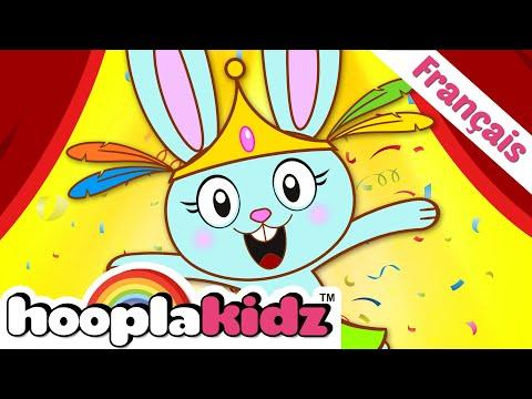 Chanson De Lapin - The Bunny Hop Song | Chansons Pour Enfants