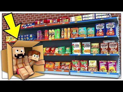 CHIUSI 24 ORE NEL CENTRO COMMERCIALE! - Minecraft ITA