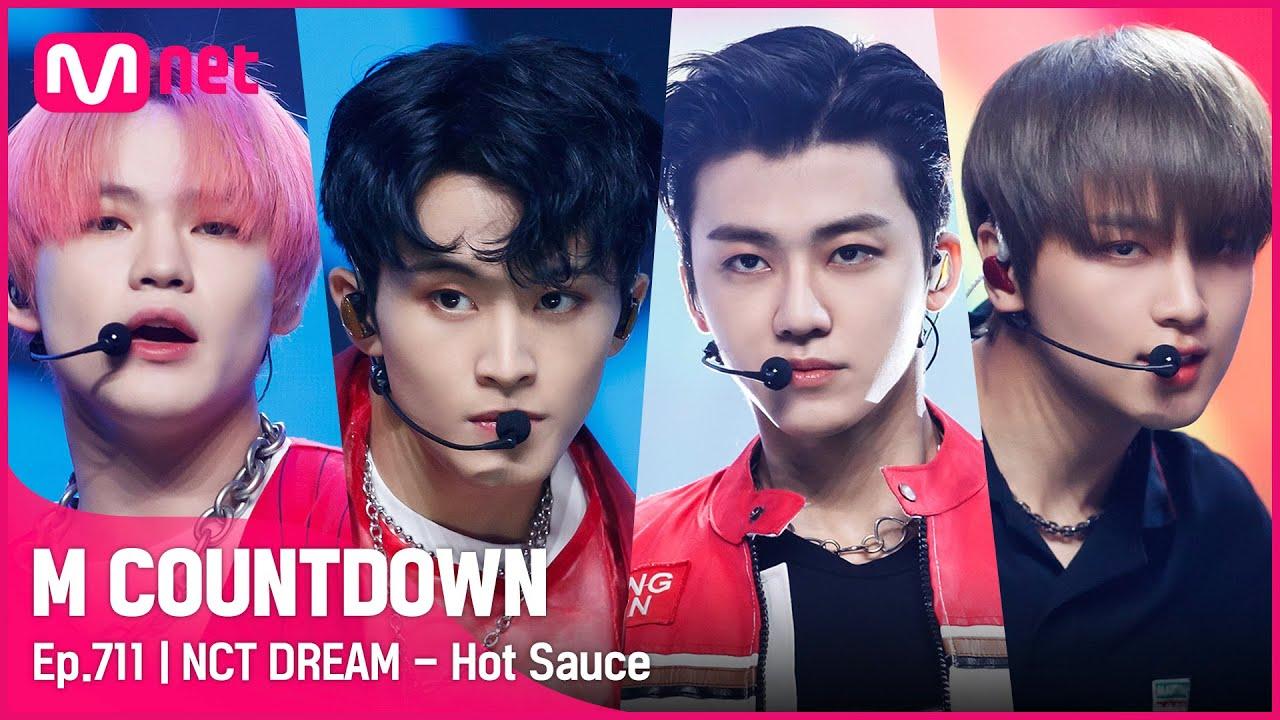[NCT DREAM - Hot Sauce] KPOP TV Show | #엠카운트다운 | Mnet 210527 방송
