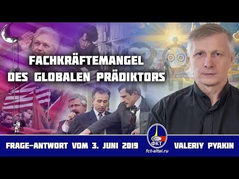 Über den Fachkräftemangel des Globalen Prädiktors (2019.06.03 Valeriy Pyakin)