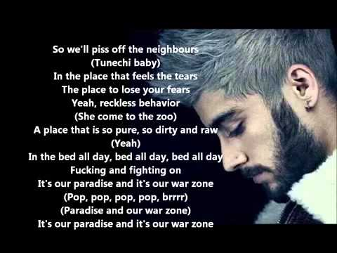 Zayn Malik ft Lil Wayne - Pillow Talk remix  Lyrics