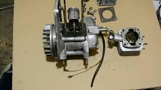 Обзор двухтактного двигателя от культиватора
