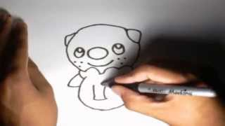 Como dibujar a Oshawott Pokémon l How to draw Pokemon Oshawott