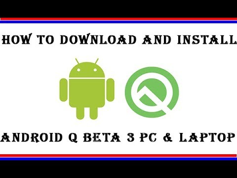 Install And Run (android Q) Android 10 On Windows 10 || How To Download And Install Android Q Beta 3