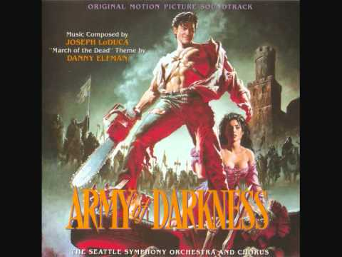 Building the deathcoaster - Joseph LoDuca (Army Of Darkness soundtrack)