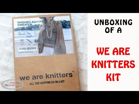 Unboxing: We Are Knitters X Two Of Wands: Washed Ashore Sweater Kit