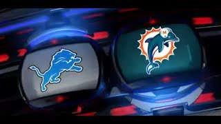 Detroit Lions Vs Miami Dolphins Preview (This Is A Tough Game)