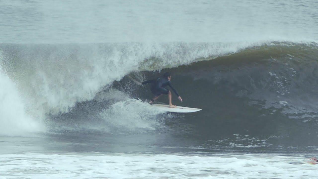 Rockaway Beach Surfers Hurricane Jose