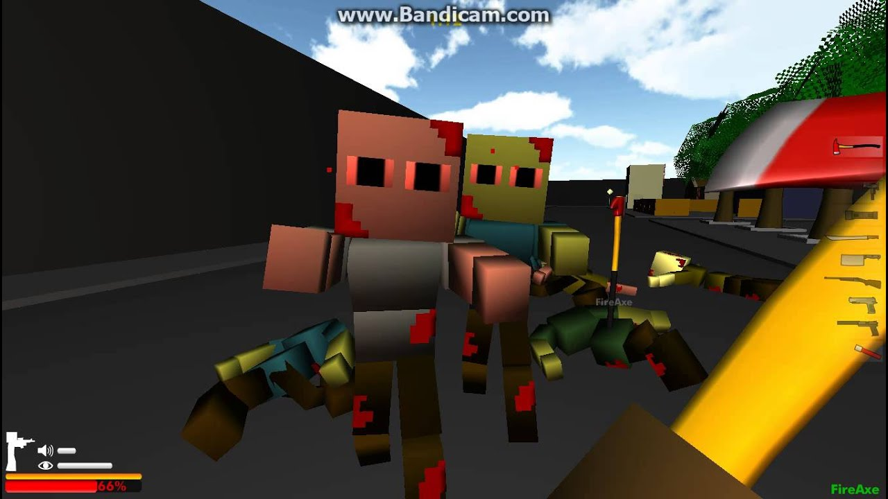 майнкрафт зомби блоки с читами #8
