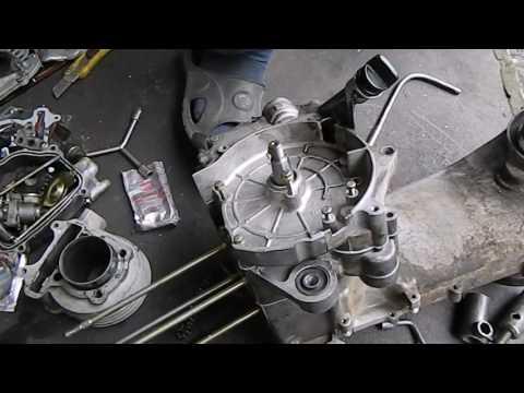 сборка двигателя 152 qmi,