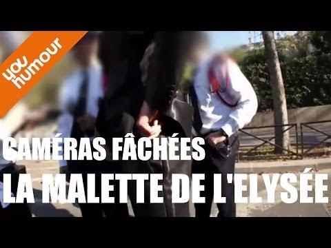 """Olivier PERRIN, Caméra fâchée """"Les mallettes à L'Elysée"""""""