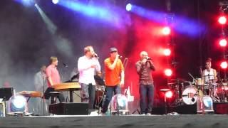 Die Fantastischen Vier - Gebt Uns Ruhig Die Schuld (Unplugged) - Zurich Openair 26.8.12
