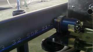 Маркировка полиэтиленовой трубы(Маркировка полиэтиленовой трубы. Принтер REA-JET DOD7., 2012-04-27T19:41:00.000Z)