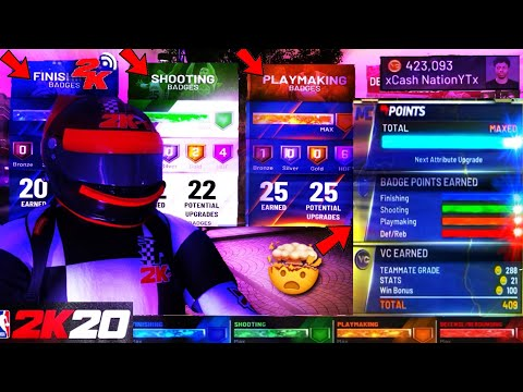 *new!*-nba-2k20-demigod-badge-glitch!-*120k+-mypoints-per-game!*-*99-ovr-max!*-(ps4/xbox)-nba2k20-vc