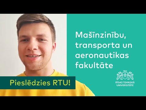 «Pieslēdzies RTU!» iepazīstina ar Mašīnzinību, transporta un aeronautikas fakultāti