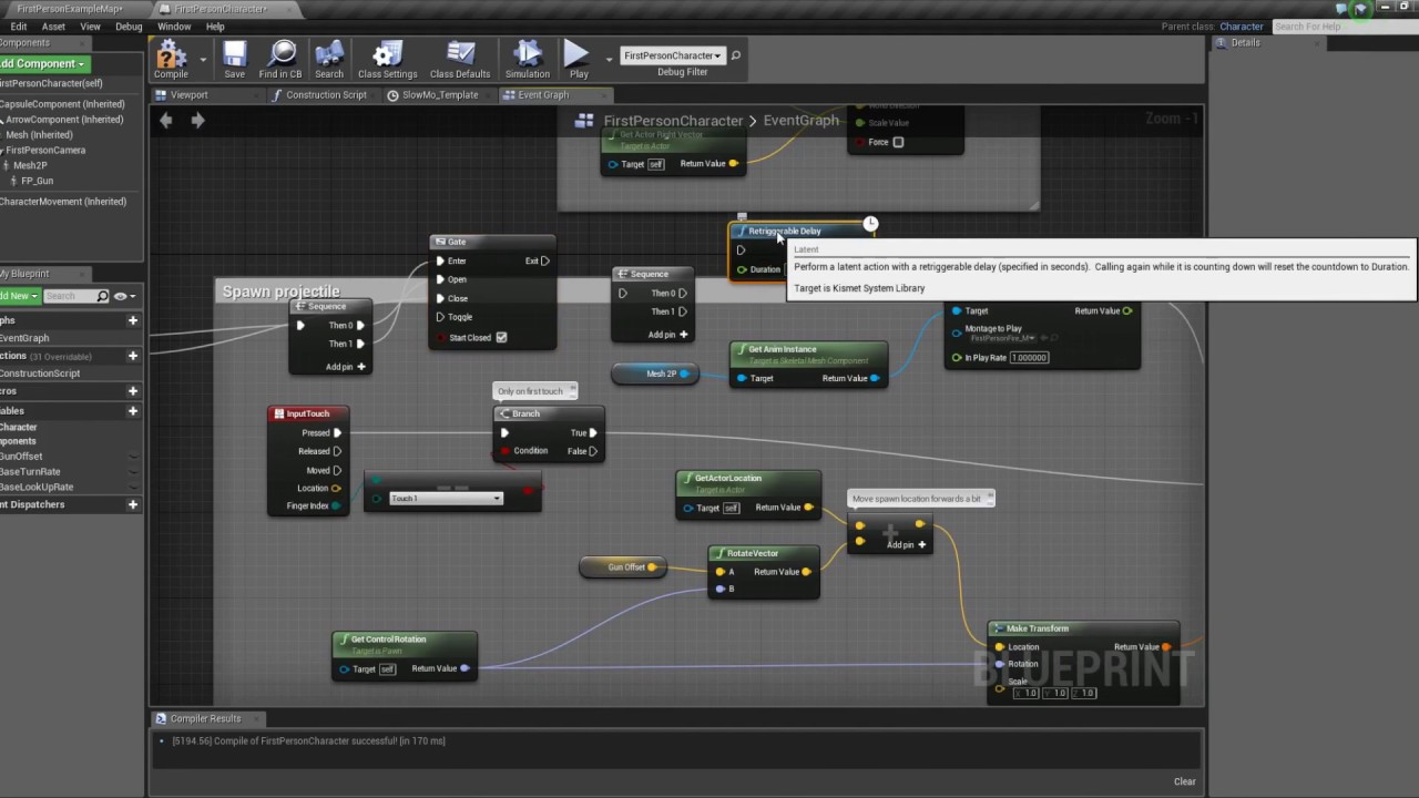 Unreal Engine 4 - Weapons: Automatic