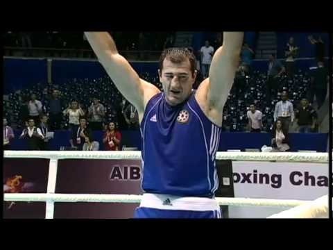 Super Heavy (+91kg) Finals - Joshua Anthony (ENG) VS Magomedrasul M. (AZE) - 2011 AIBA World Champs