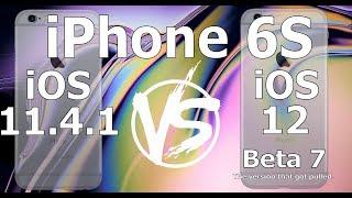 Speed Test : iPhone 6S : iOS 12 Beta 7