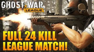 24 KILL FULL GHOST WAR PRO LEAGUE SEMIFINALS MATCH! (HVT vs Infamous Esports)