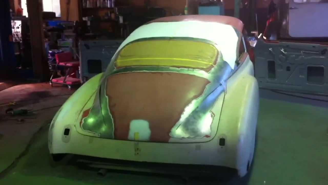 1949 Chevy Fleetline Chopped Top in Japan 0 Kustom - YouTube