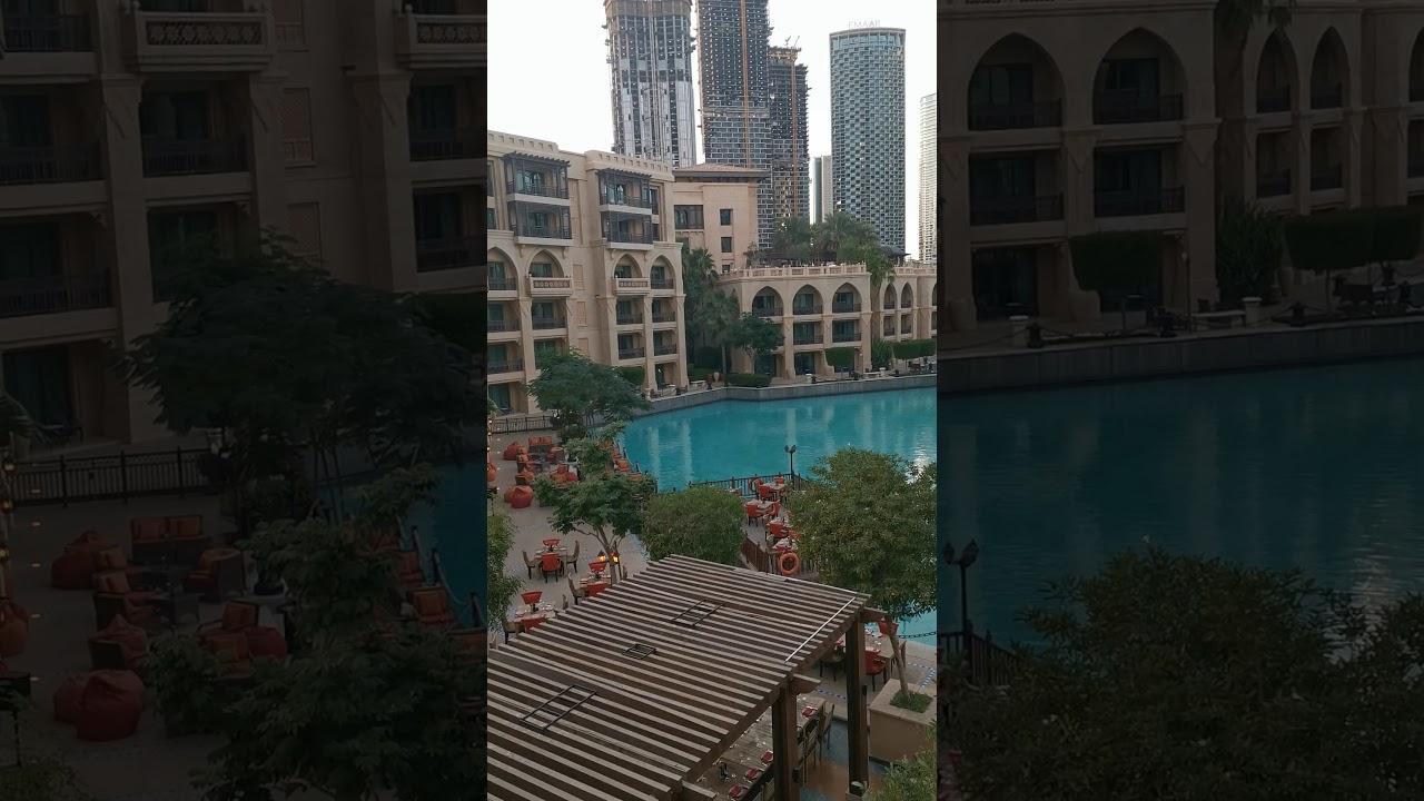 منظر خيالي لبحيره برج خليفه دبي مول Youtube Skyscraper Structures Building