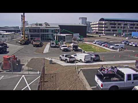 Northeast Air General Aviation Terminal Construction Timelapse