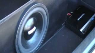"""SSA DCON 12"""" In Mazda Protege5"""