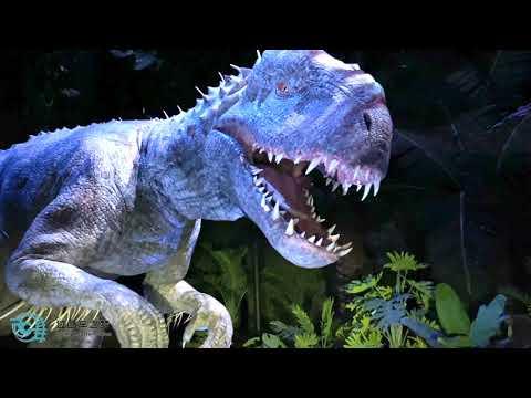 Jurassic World Adventure dark whole ride at Universal Beijing Resort