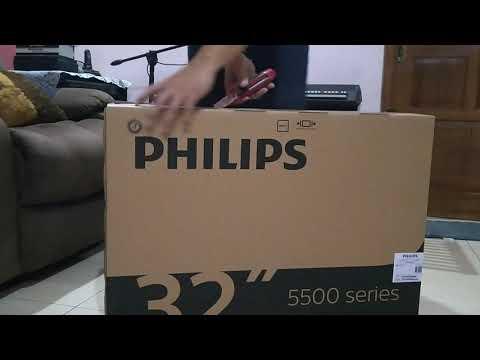 PHILIPS HD Digital TV 5500 Series (NON SMART TV) Unboxing