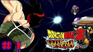 DRAGON BALL Z ULTIMATE TENKAICHI GAMEPLAY PART 1