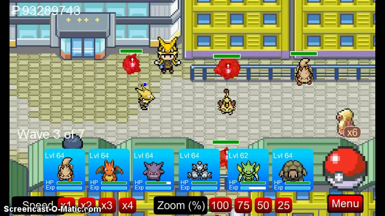 Pokemon Tower Defense-Saffron City - YouTube