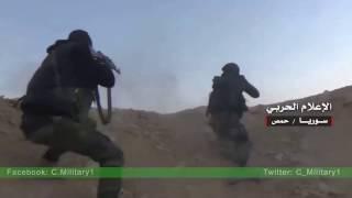 Сирия 13.12.2016 Хомс Ожесточенные бои в районе авиабазы Тияс Т 4