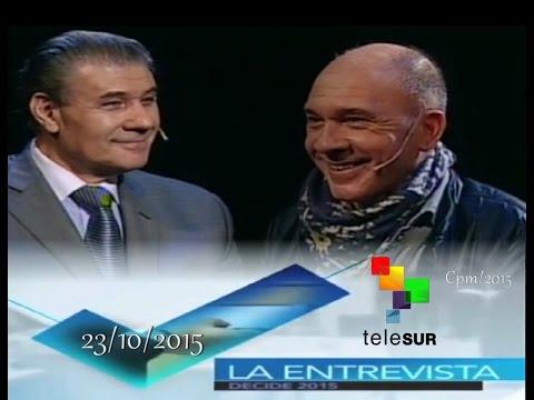 La Entrevista Decide .Victor Hugo Morales con Darío Grandinetti( 23 /10 /2015 )