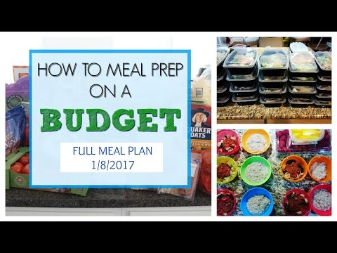 how-to-meal-prep-on-a-budget---$100-for-a-family-of-4!!!