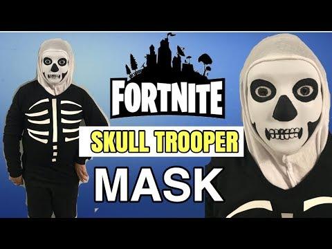 Diy Fortnite Skull Trooper Mask Halloween Costume