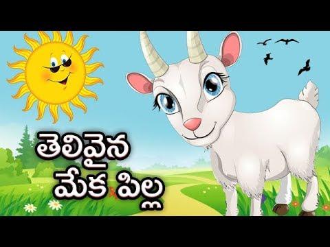 Kids Animated Stories   Telivaina Meka Pilla   Moral Stories In Telugu For Children   Bommarillu