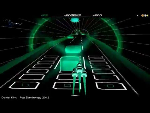 Pop danthology - Daniel Kim 2010 - 2011 - 2012 -2013 - 2014 - Audiosurf compilation