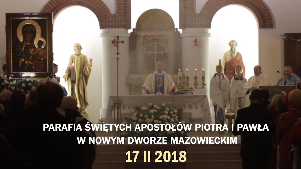 Peregrynacja Obrazu MB Częstochowskiej – Nowy Dwór Mazowiecki (17 II 2018 r.)