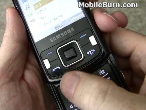 Samsung i8510 INNOV8 - Design and 8MP Camera