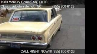 1963 Mercury Comet  for sale in Nationwide, NC 27603 at Clas #VNclassics