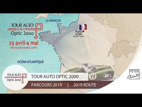 1748af4835 Parcours 2019 Tour Auto Optic 2000 - YouTube