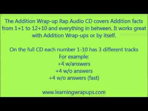Learning Wrap-Ups: Wrap-Up Rap Addition Sample