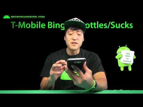 T-Mobile Binge On Throttles! & How To Turn Off Binge On!
