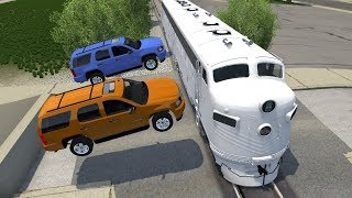 Flanking Trains - Beamng drive